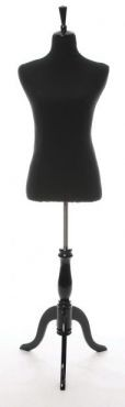 Display and Dressmaking Form Black - 1 Size