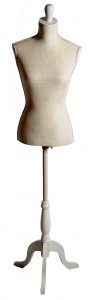 Linen 3 Quarters Scale Mannequin 1 Size